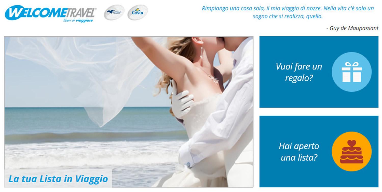 Prenota direttamente il tuo viaggio di nozze